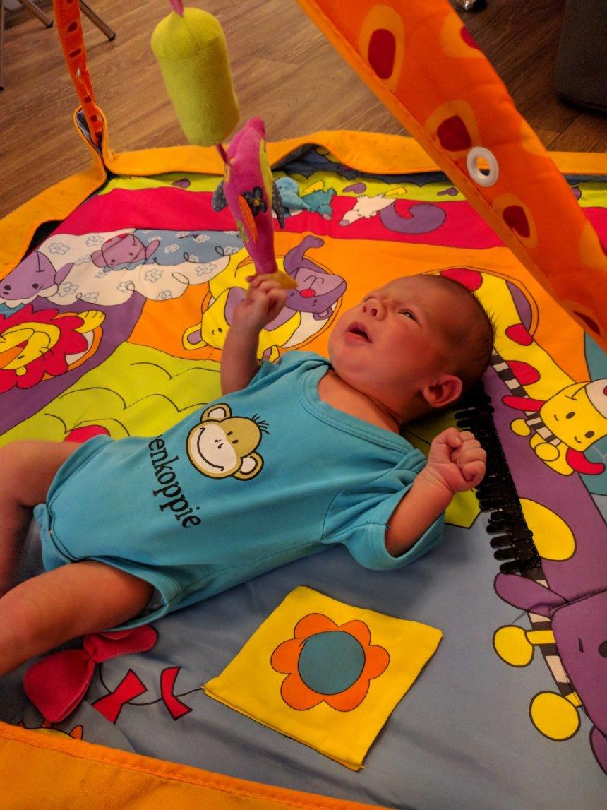 Отчёт по занятию Тактильный коврик для крохи в Wachanga!