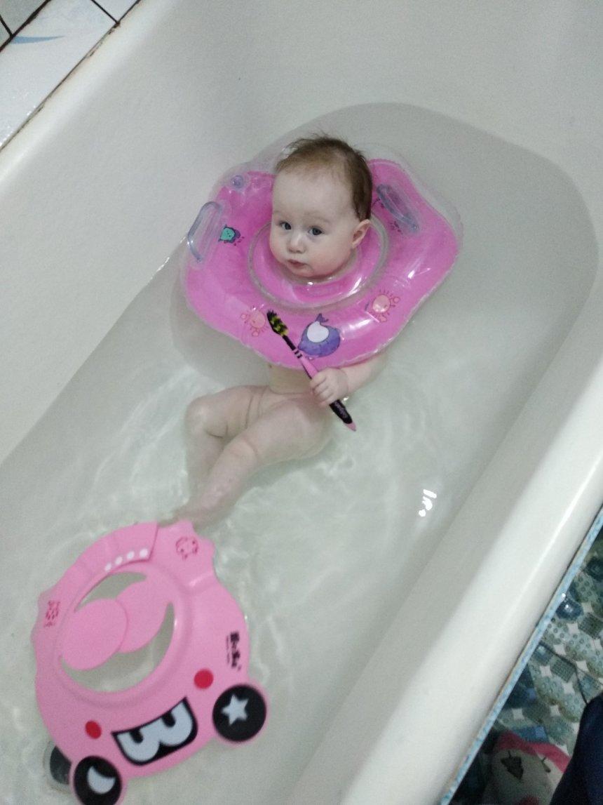 Отчёт по занятию Тактильные игры в ванне в Wachanga!