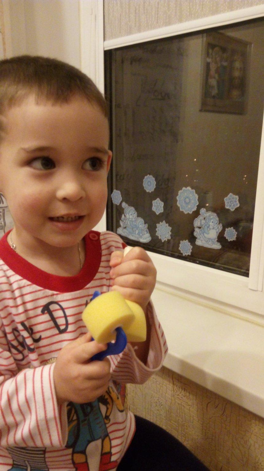 Отчёт по занятию Порисуйте с ребёнком валиками в Wachanga!