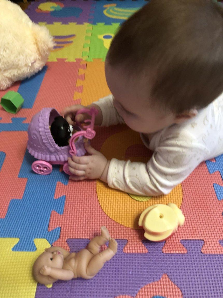 Отчёт по занятию Важность личного пространства для малыша в Wachanga!