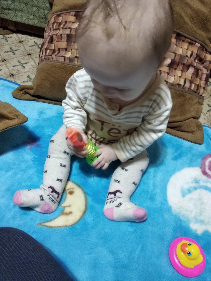 Отчёт по занятию Перекладываем игрушку в Wachanga!
