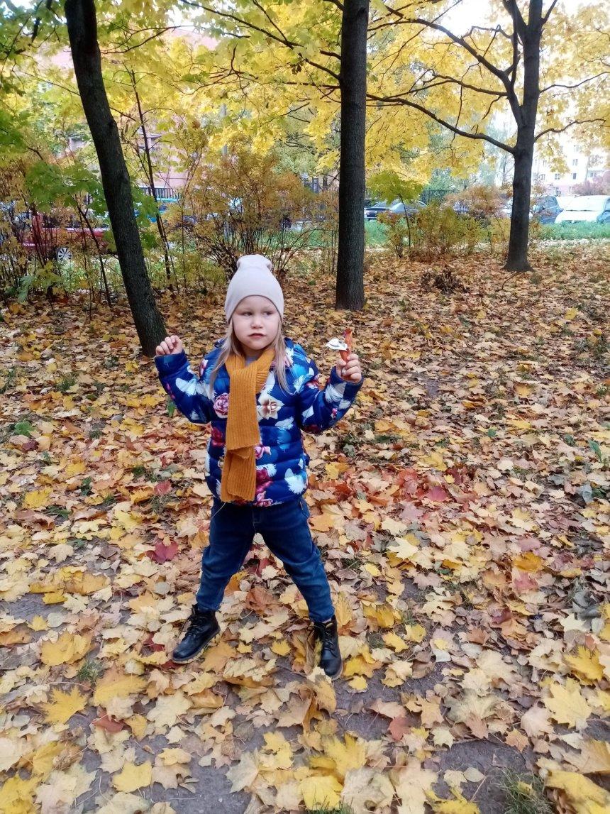 Отчёт по занятию Осенняя прогулка с малышом в Wachanga!