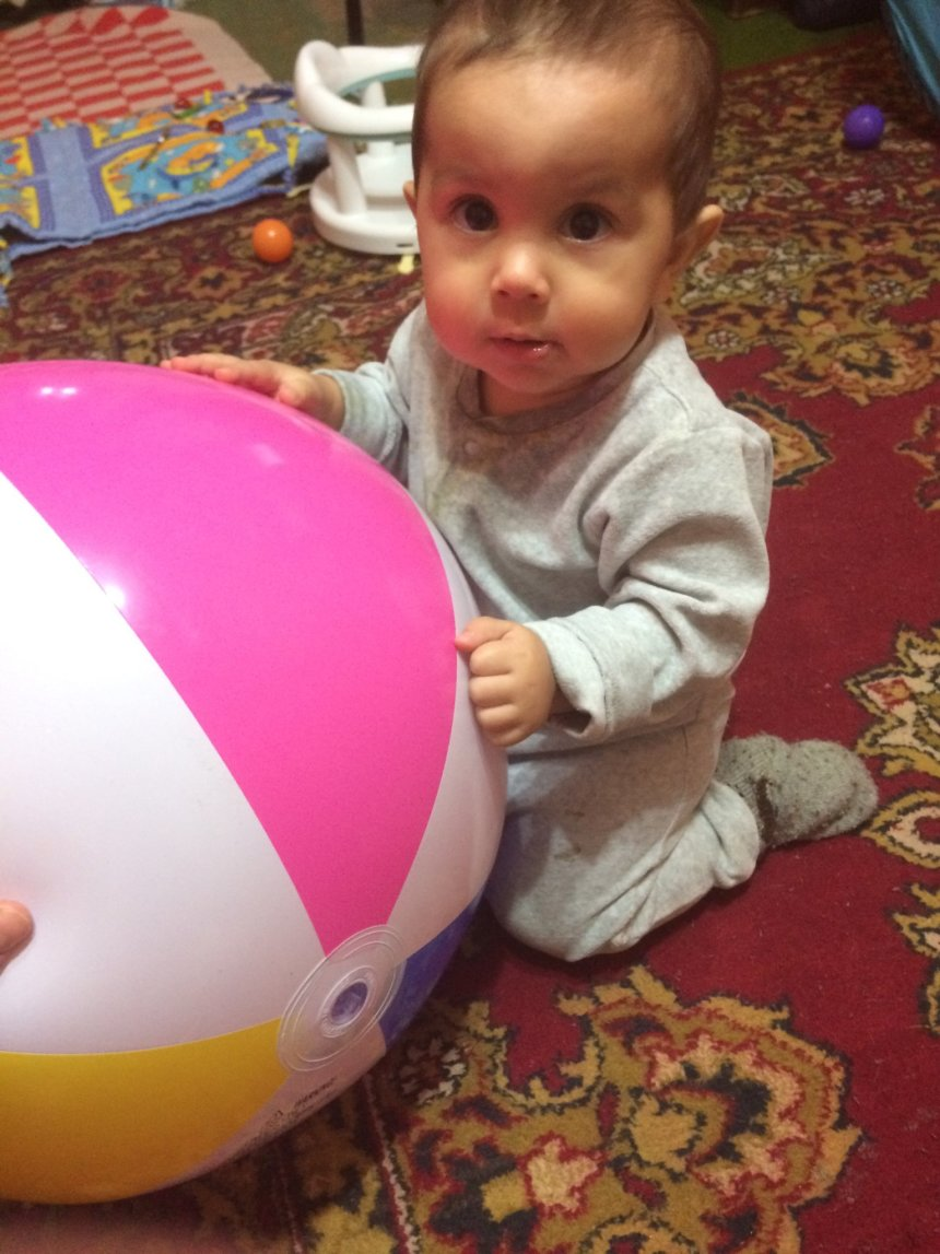 Отчёт по занятию Первые игры с футбольным мячом в Wachanga!