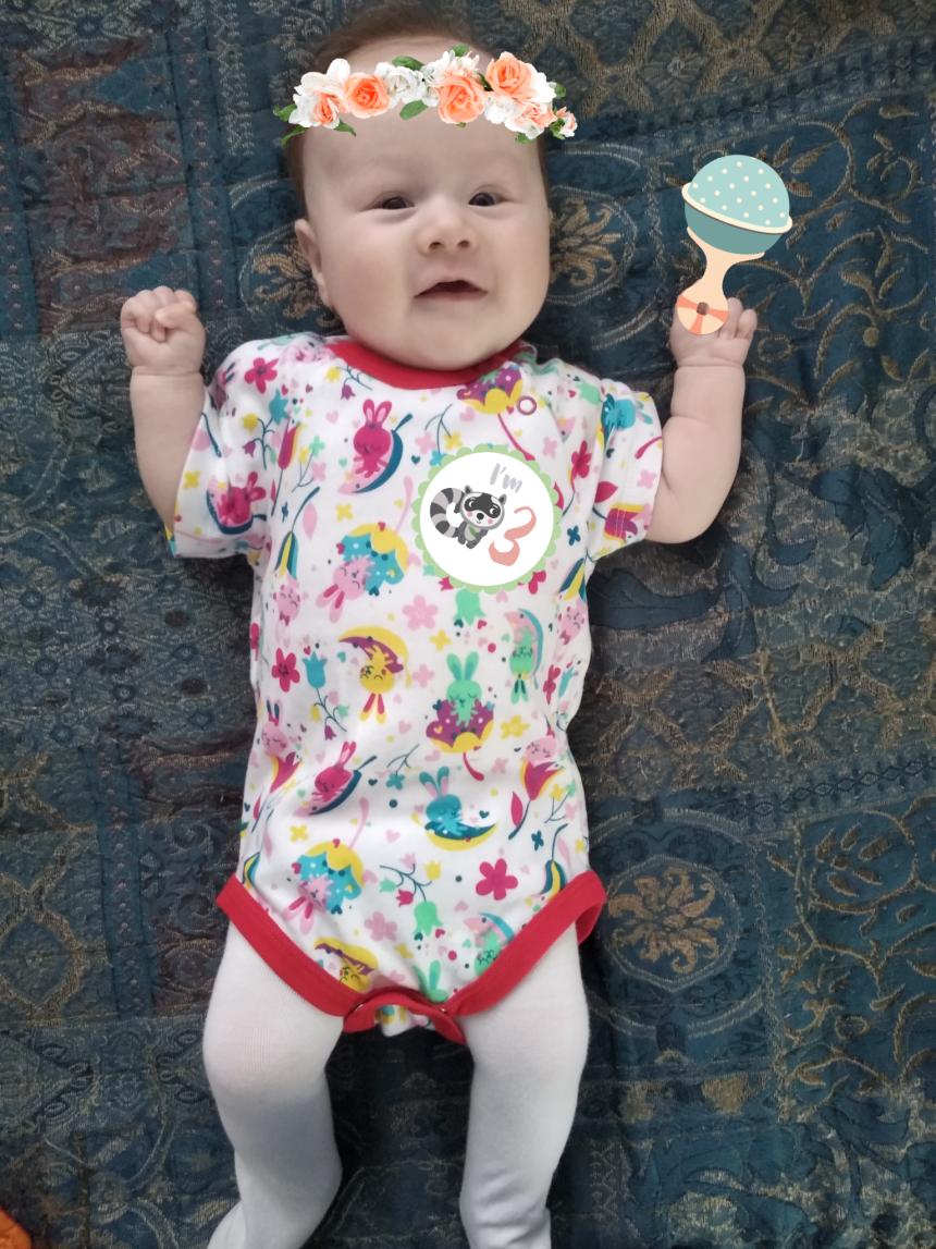 Отчёт по занятию Вашему малышу 3 месяца в Wachanga!