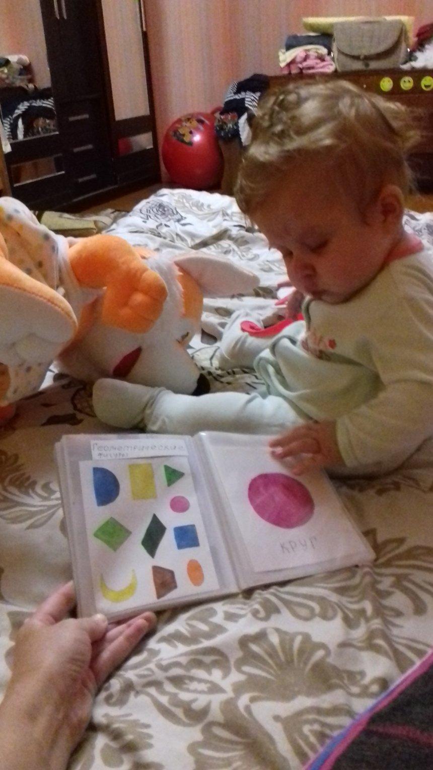 Отчёт по занятию Дидактическое пособие «Геометрические фигуры» в Wachanga!