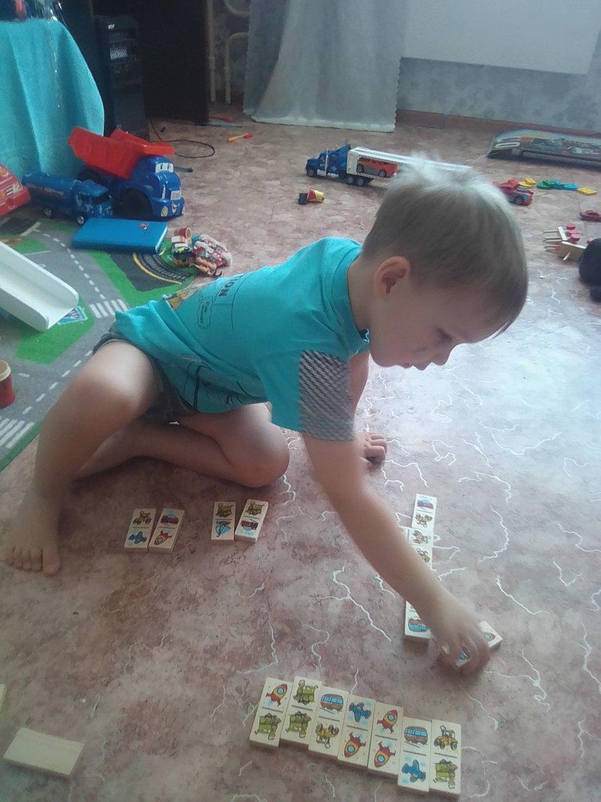 Отчёт по занятию Поиграйте в домино в Wachanga!