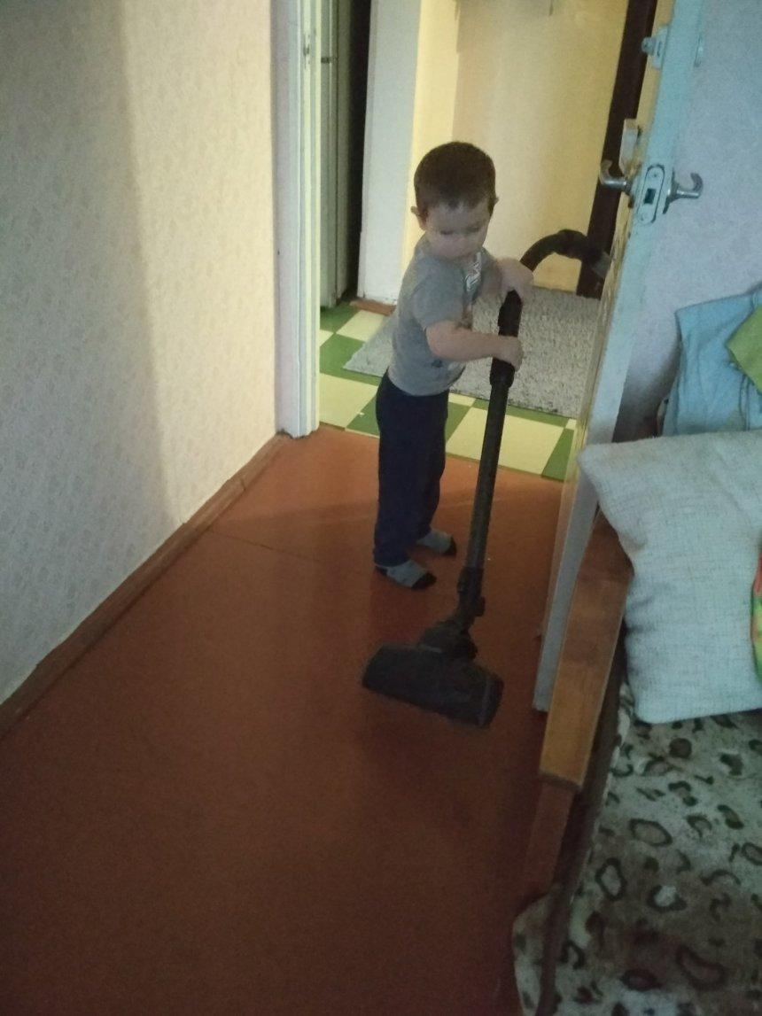 Отчёт по занятию Играем в уборку в Wachanga!