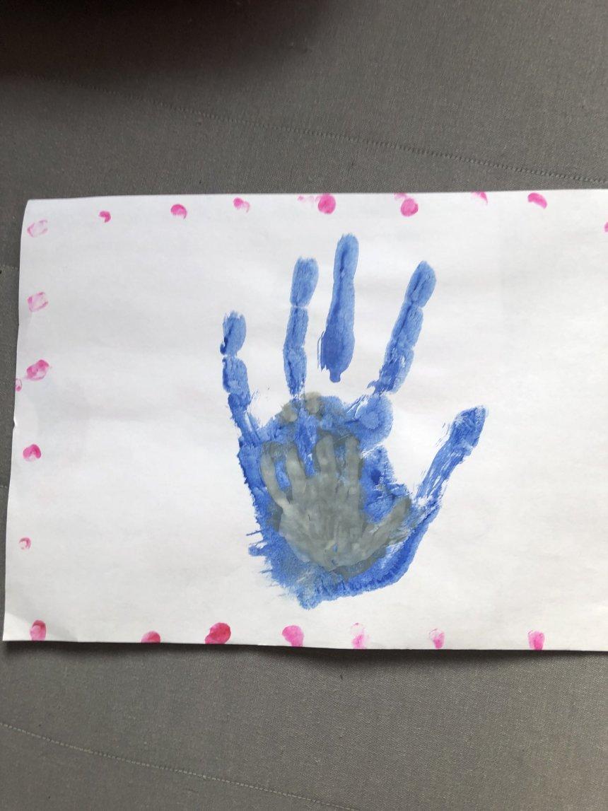 Отчёт по занятию Отпечатки рук в Wachanga!