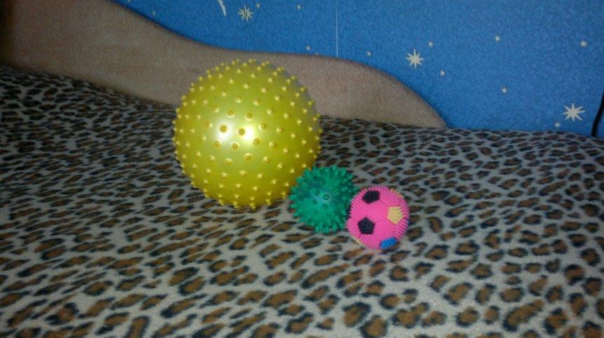 Отчёт по занятию Колючие мячики-ёжики в Wachanga!