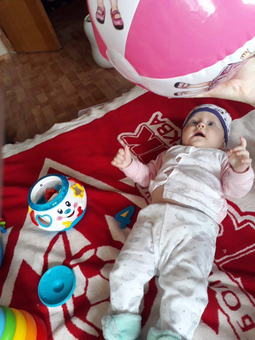 Отчёт по занятию Предложите малышу поиграть с надувным мячиком в Wachanga!