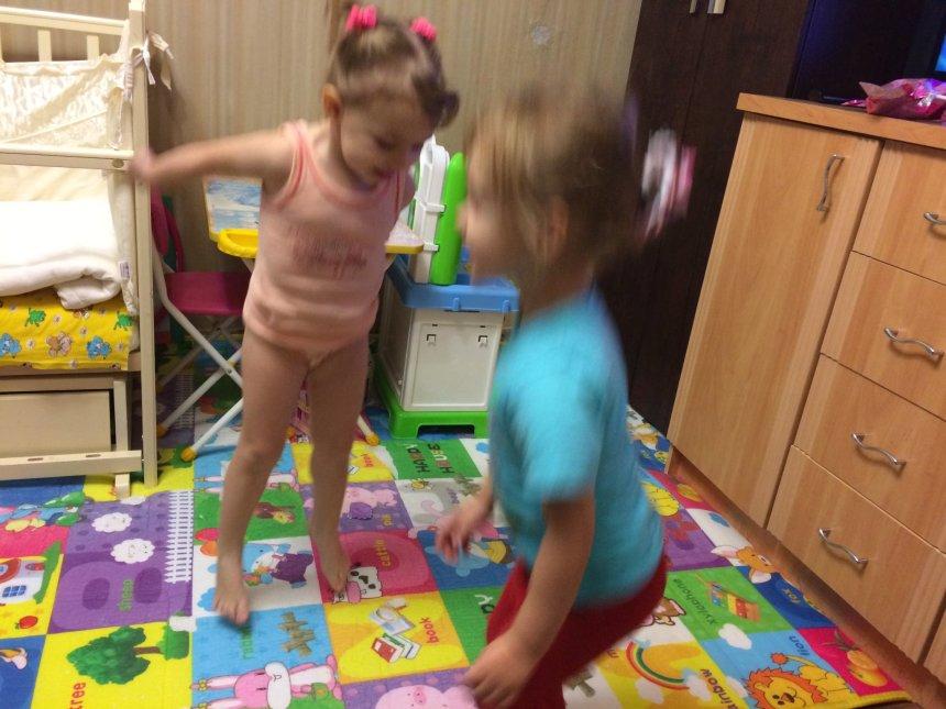 Отчёт по занятию Прыг-прыг-прыг! в Wachanga!