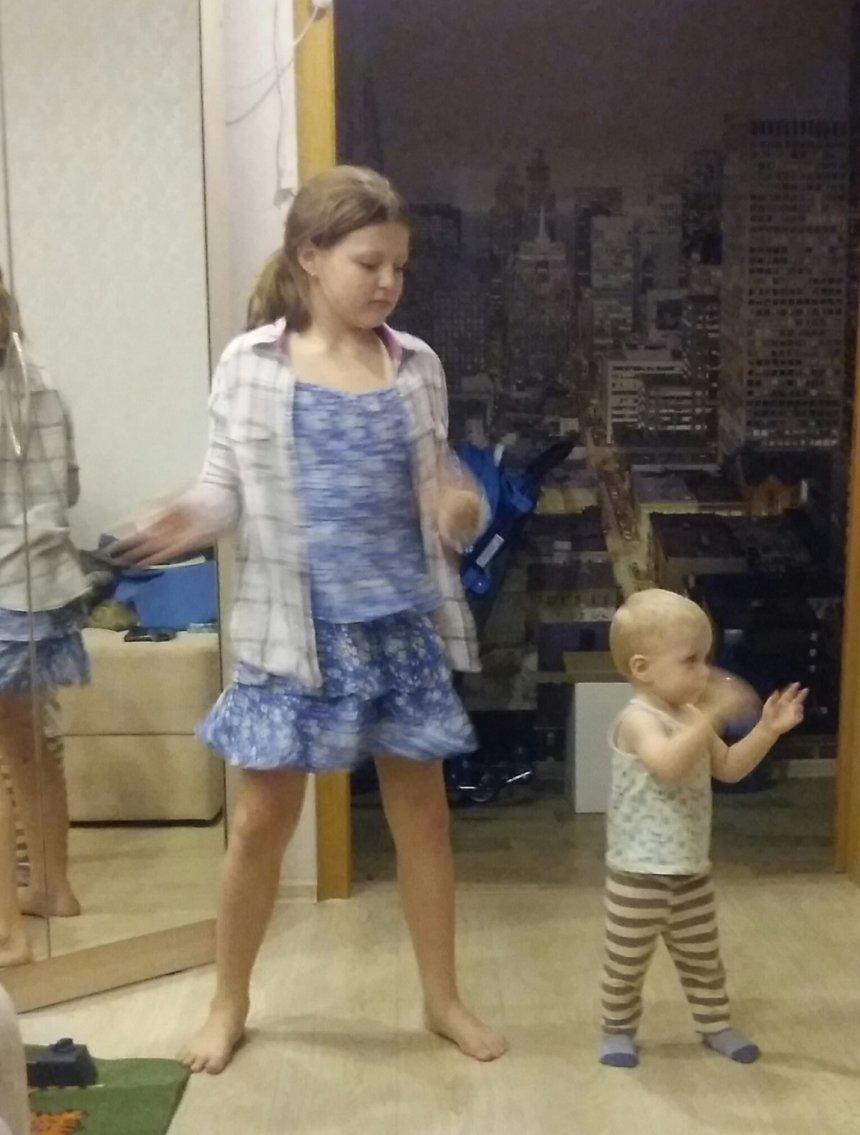 Отчёт по занятию Весёлые танцы для развития малыша в Wachanga!