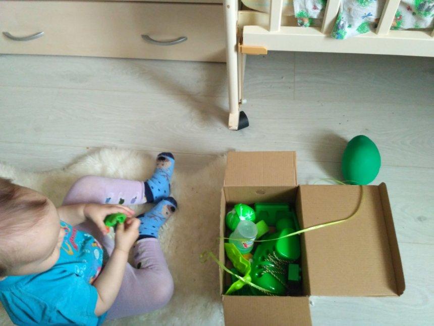 Отчёт по занятию Зеленая сенсорная коробочка в Wachanga!