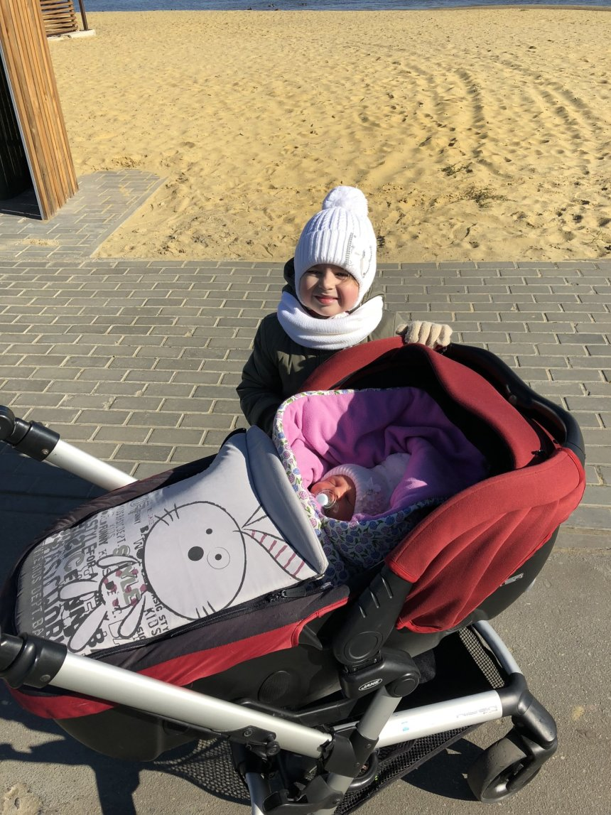 Отчёт по занятию Как одеть новорожденного в оттепель в Wachanga!