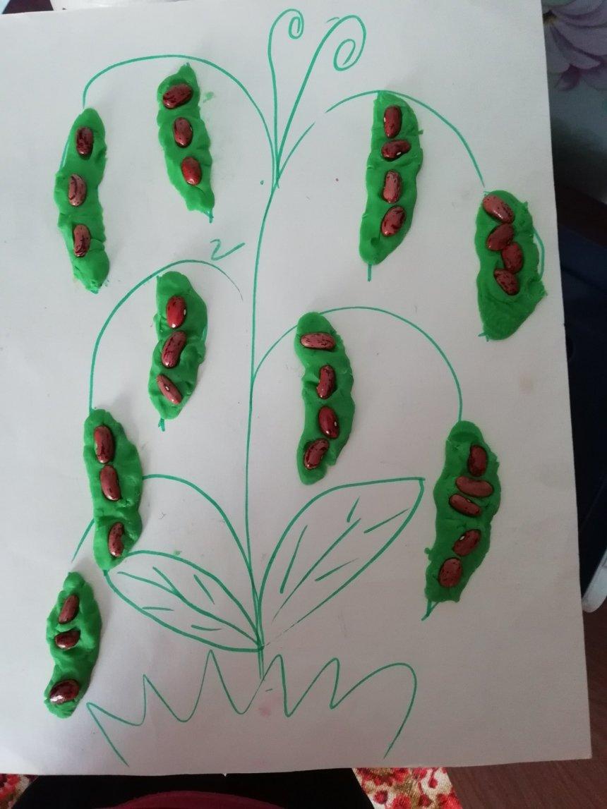 Отчёт по занятию Поделка «Пятеро из одного стручка» в Wachanga!