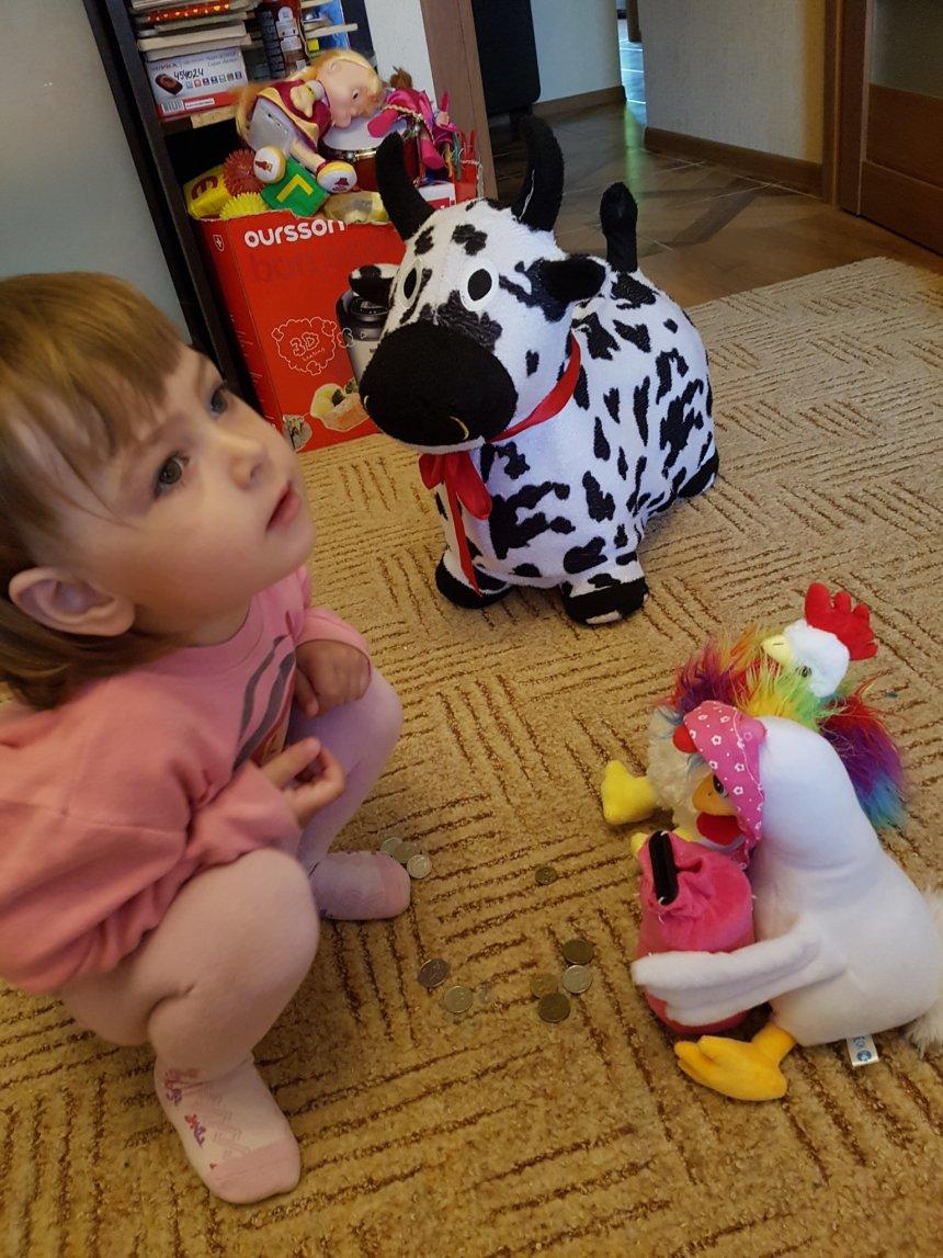 """Отчёт по занятию Прочитайте малышу сказку """"Петушок и бобовое зернышко"""" в Wachanga!"""