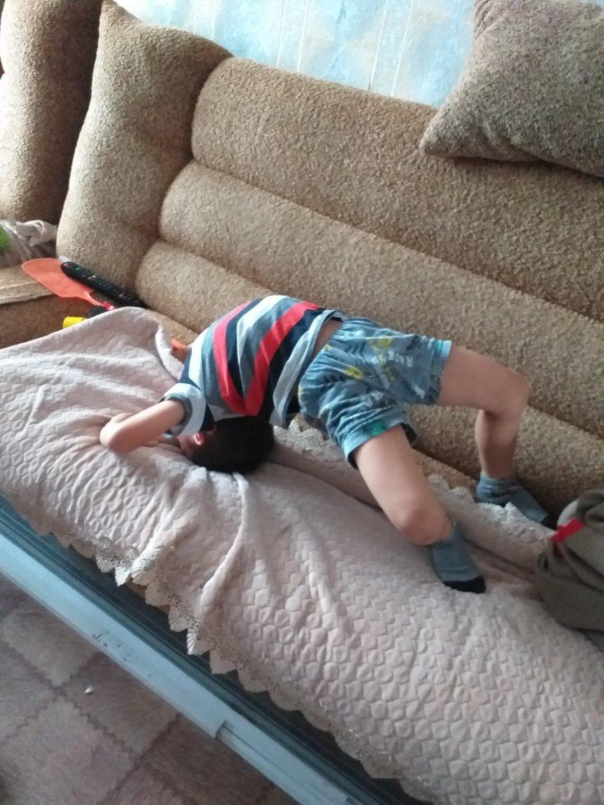 Отчёт по занятию Гимнастика с ребёнком в Wachanga!