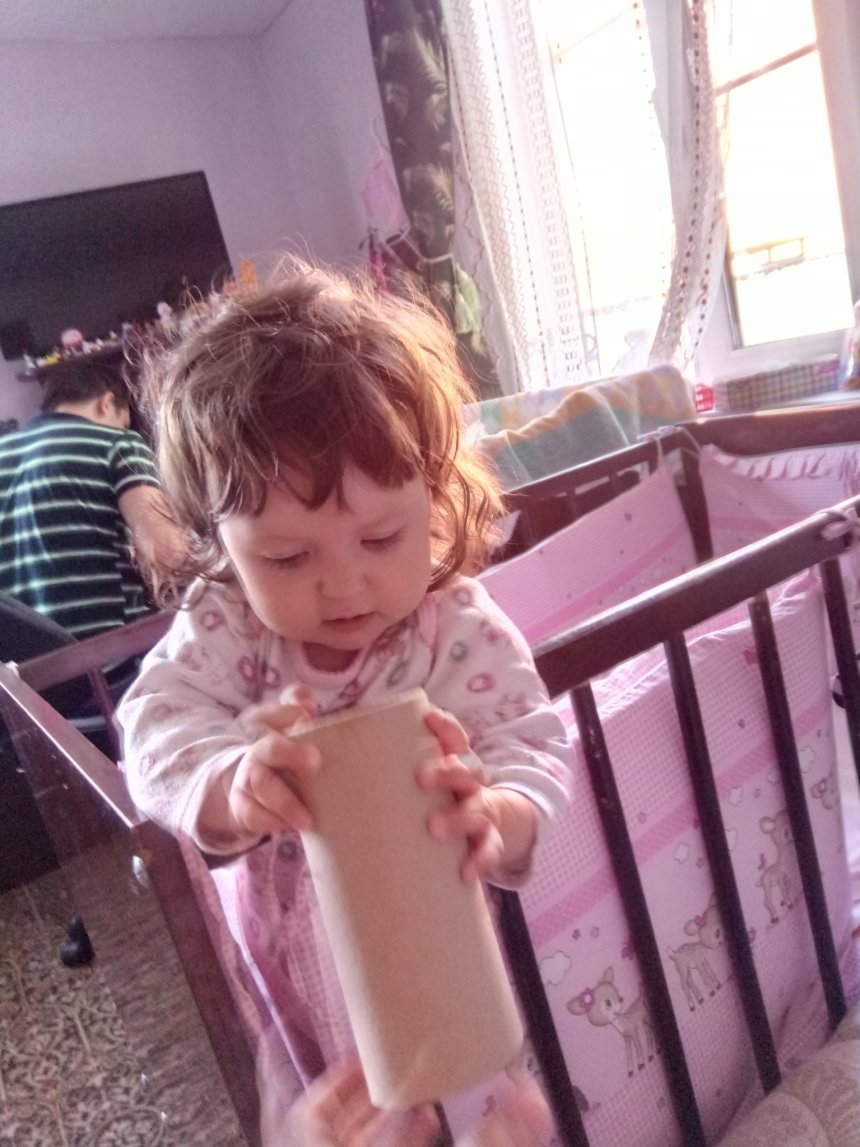 Отчёт по занятию Предложите малышу поиграть с картонной трубкой в Wachanga!