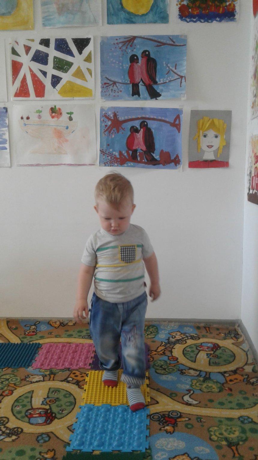Отчёт по занятию Послушные ножки в Wachanga!