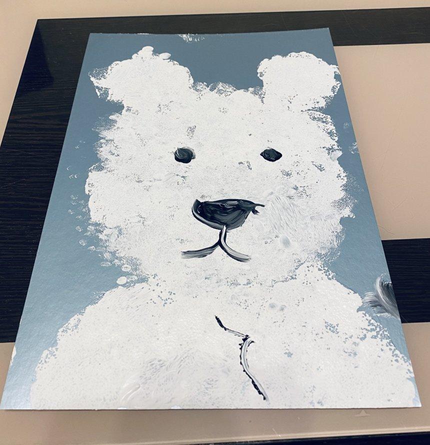 Отчёт по занятию Белый медвежонок в Wachanga!