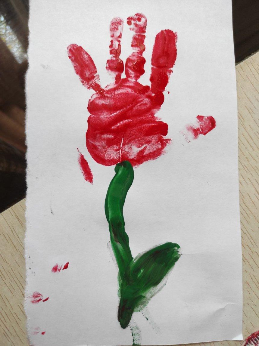 Отчёт по занятию Открытка на 8 марта с тюльпанами в Wachanga!