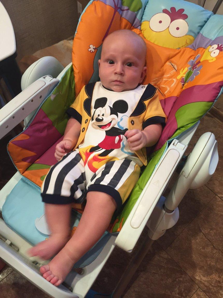 Отчёт по занятию Что может ребенок в четыре месяца в Wachanga!