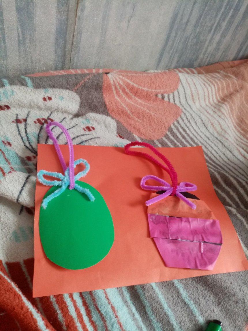 Отчёт по занятию Сделайте с ребёнком пасхальные открытки в Wachanga!