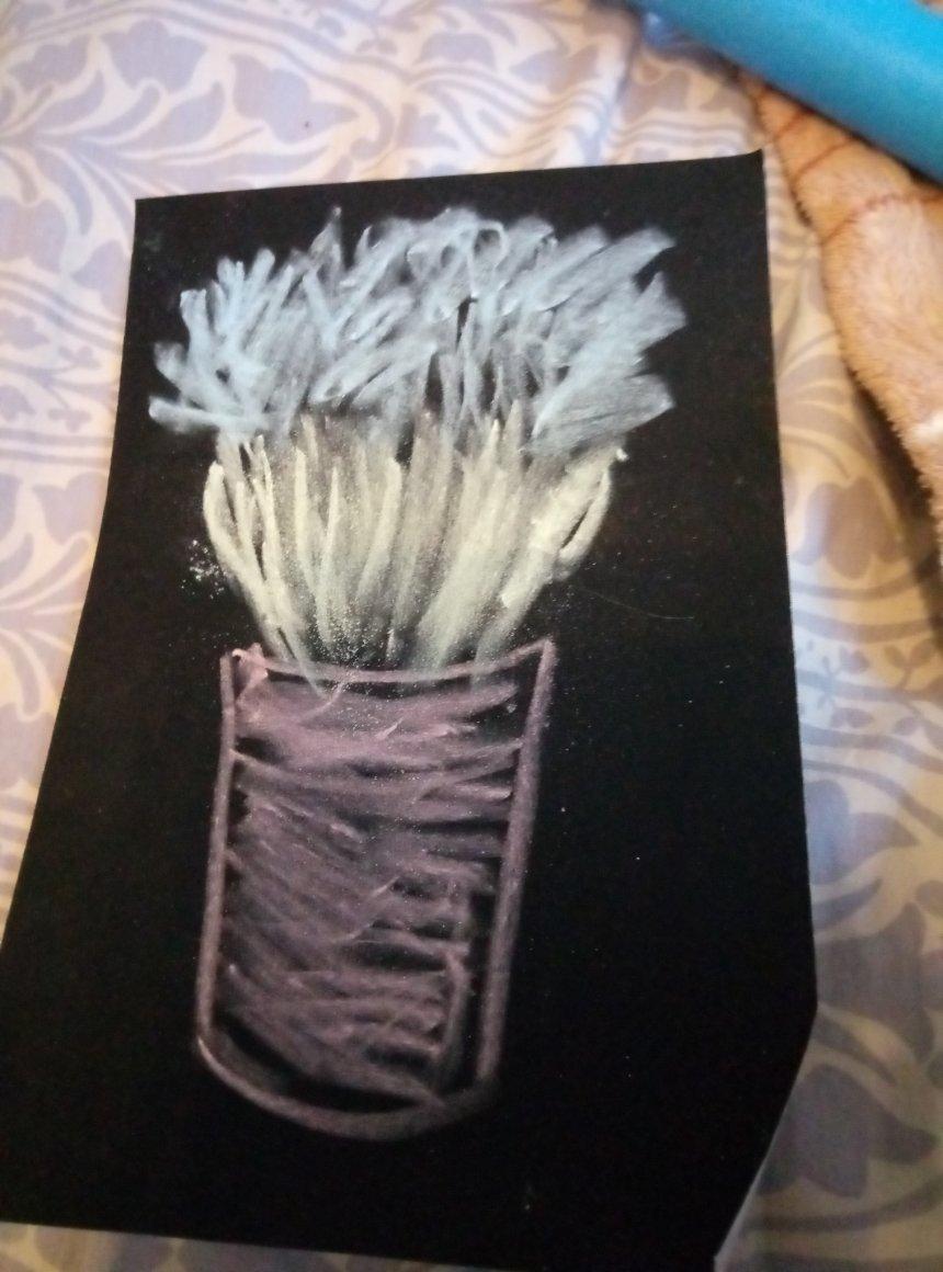 Отчёт по занятию Порисуйте пастелью! в Wachanga!