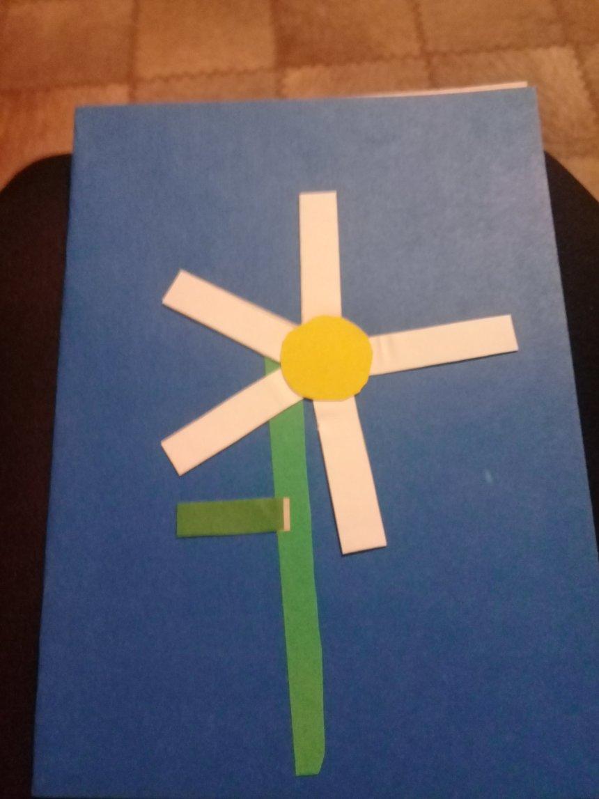 Отчёт по занятию Сделайте вместе с ребенком поздравительную открытку  в Wachanga!