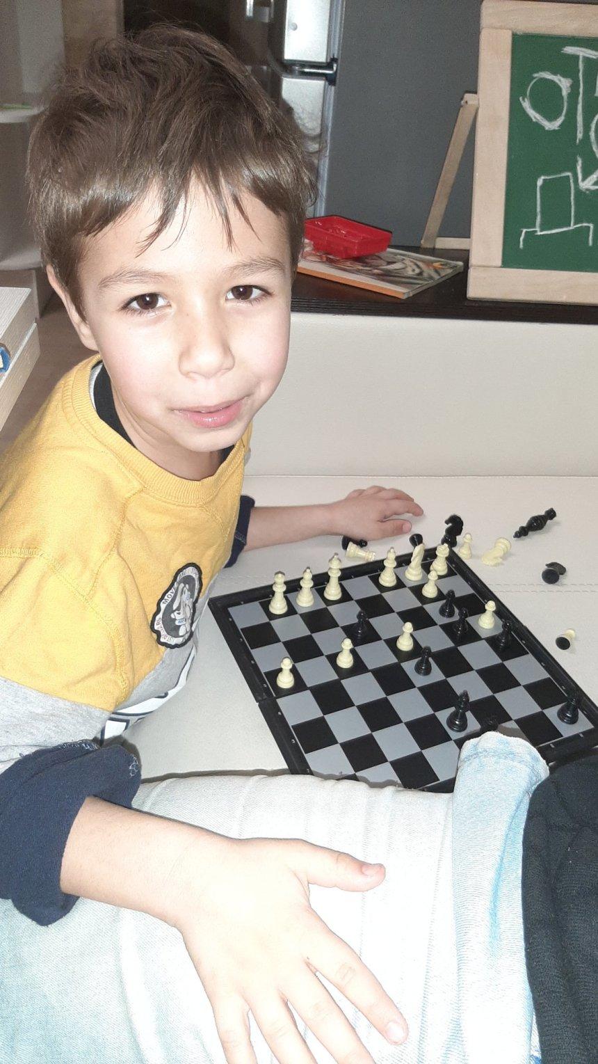 Отчёт по занятию Поиграйте с ребенком в шахматы! в Wachanga!