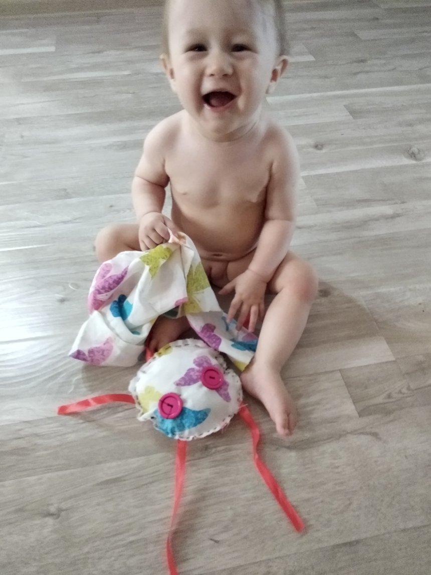 """Отчёт по занятию Развивающая игрушка """"Осьминог"""" в Wachanga!"""