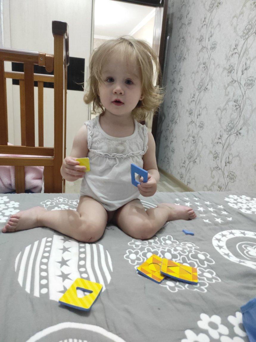 Отчёт по занятию Поиграйте с ребенком в игру «Найди комплект» в Wachanga!