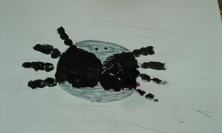 Отчёт по занятию Маленький паучок в Wachanga!