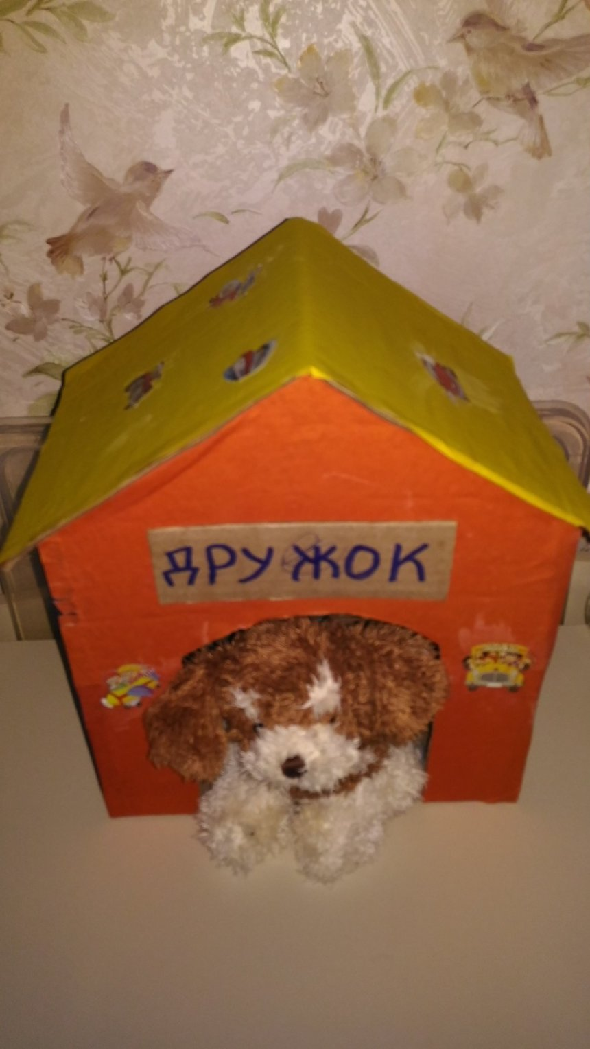 Отчёт по занятию Будка для щенка в Wachanga!
