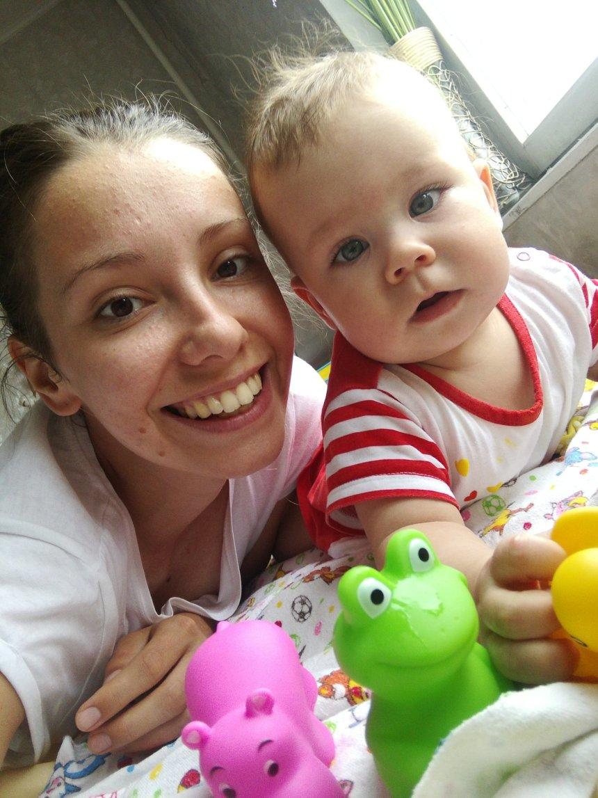 Отчёт по занятию Гимнастика для малышей в 5-6 месяцев в Wachanga!