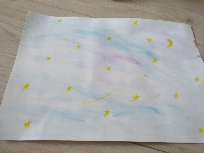 Отчёт по занятию Звёздное небо в Wachanga!