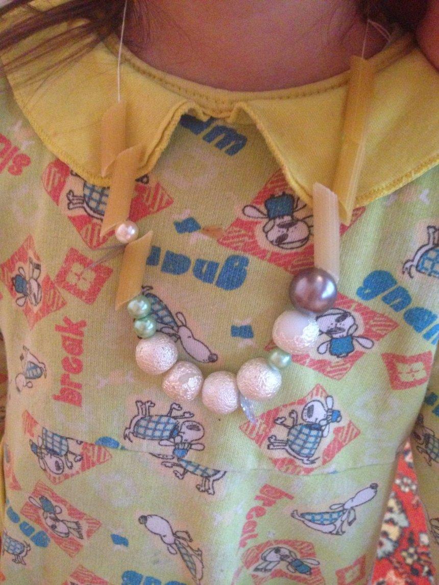 Отчёт по занятию Бусы и браслеты из макарон в Wachanga!