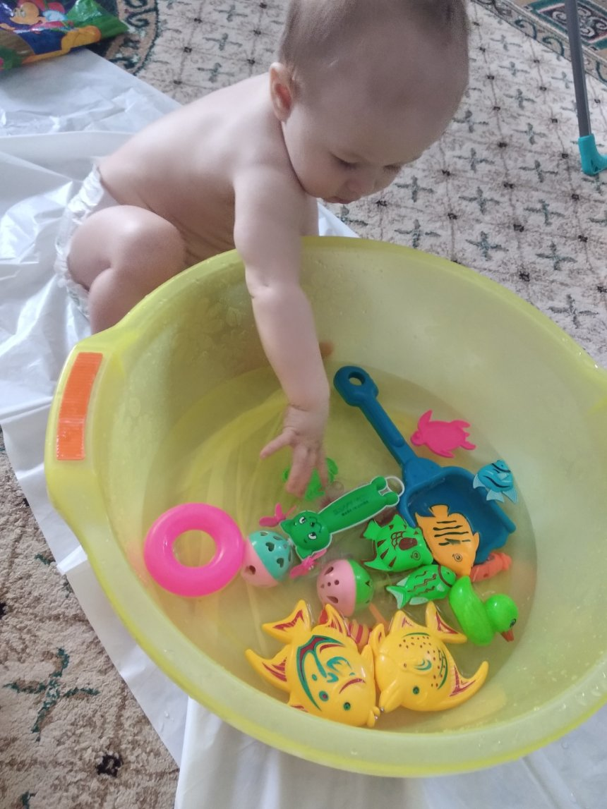 Отчёт по занятию Поиграйте с водой и ситом в Wachanga!