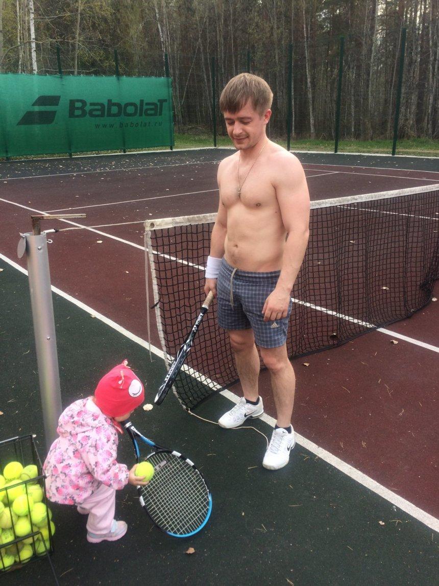 Отчёт по занятию Учимся играть в теннис в Wachanga!