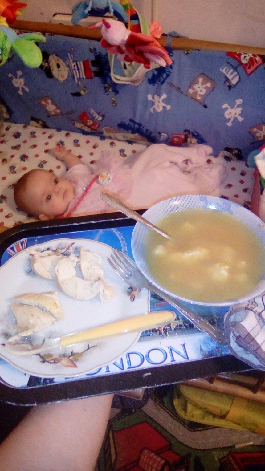 Отчёт по занятию Суп из филе индейки с клецками в Wachanga!