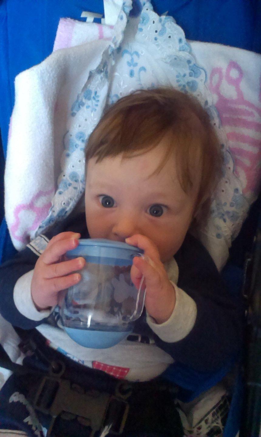 Отчёт по занятию Дайте ребёнку чашку в Wachanga!