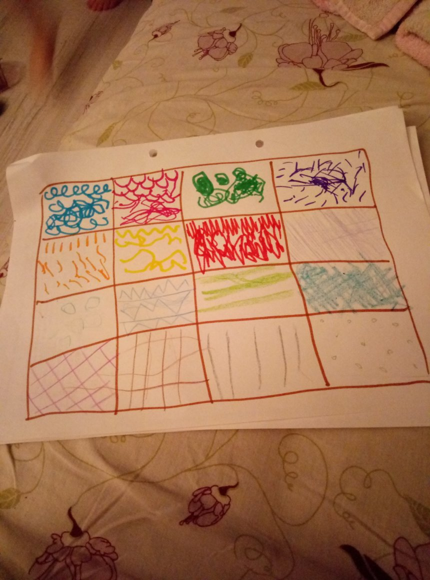 Отчёт по занятию Порисуйте вместе с ребенком простыми карандашами в Wachanga!
