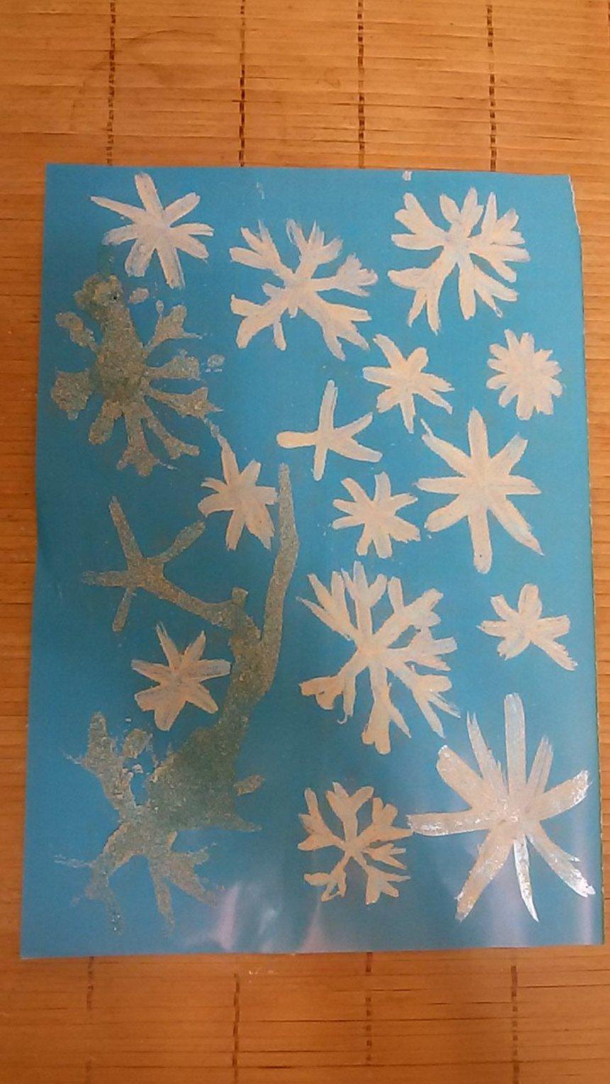 Отчёт по занятию Снежинки в Wachanga!