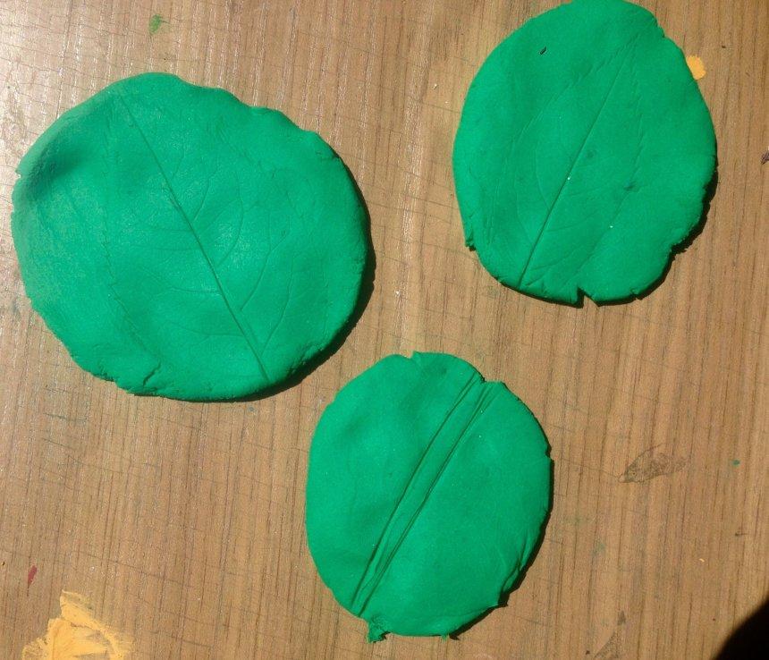 Отчёт по занятию Растительные отпечатки в Wachanga!