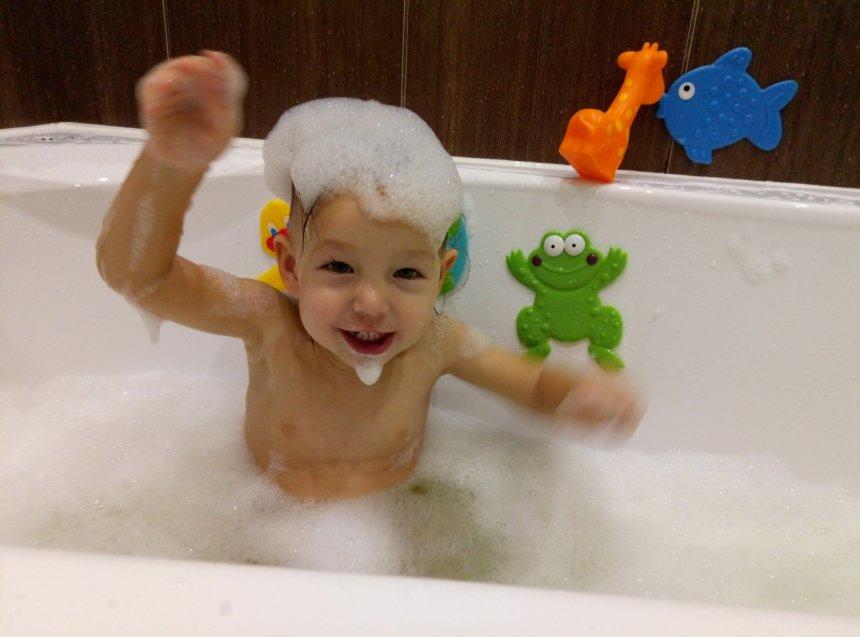 Отчёт по занятию Ванна с пеной в Wachanga!