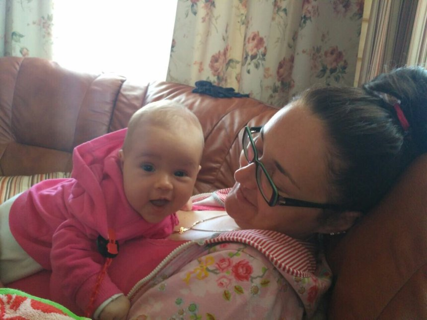 Отчёт по занятию Тактильное восприятие двухмесячного малыша в Wachanga!