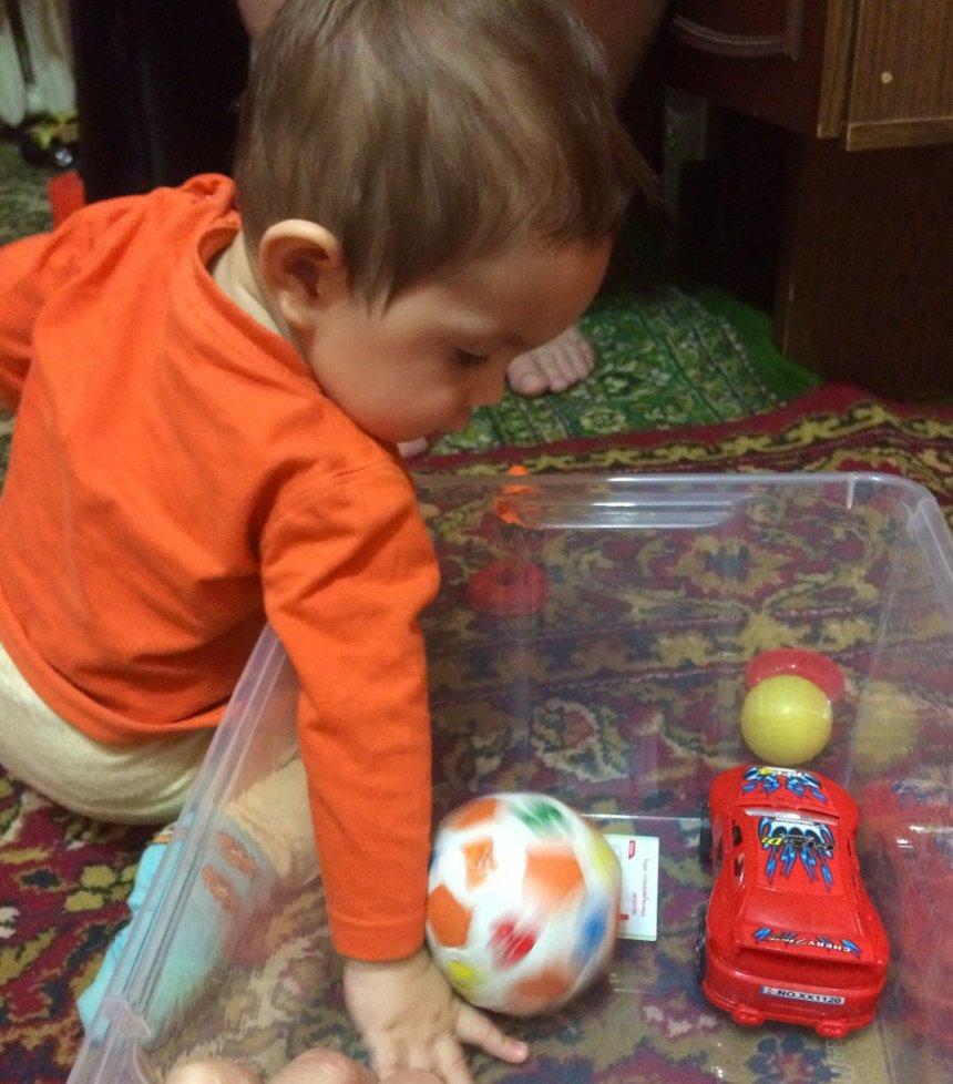 """Отчёт по занятию Познакомьте малыша с понятием """"глубина"""" в Wachanga!"""