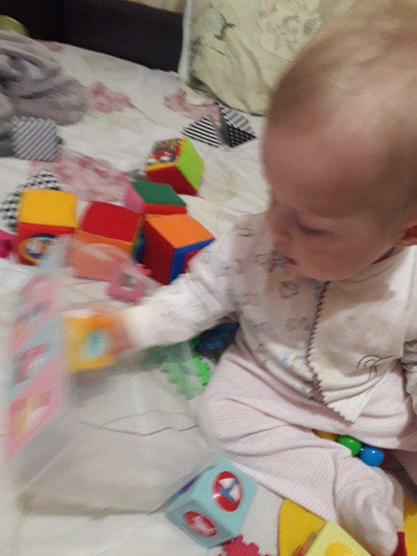 Отчёт по занятию Складываем игрушки в Wachanga!
