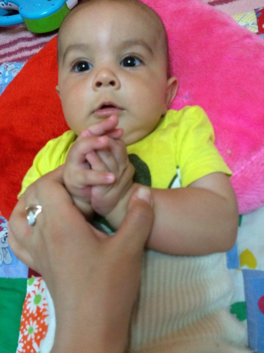 Отчёт по занятию Поиграйте с малышом в ладушки в Wachanga!