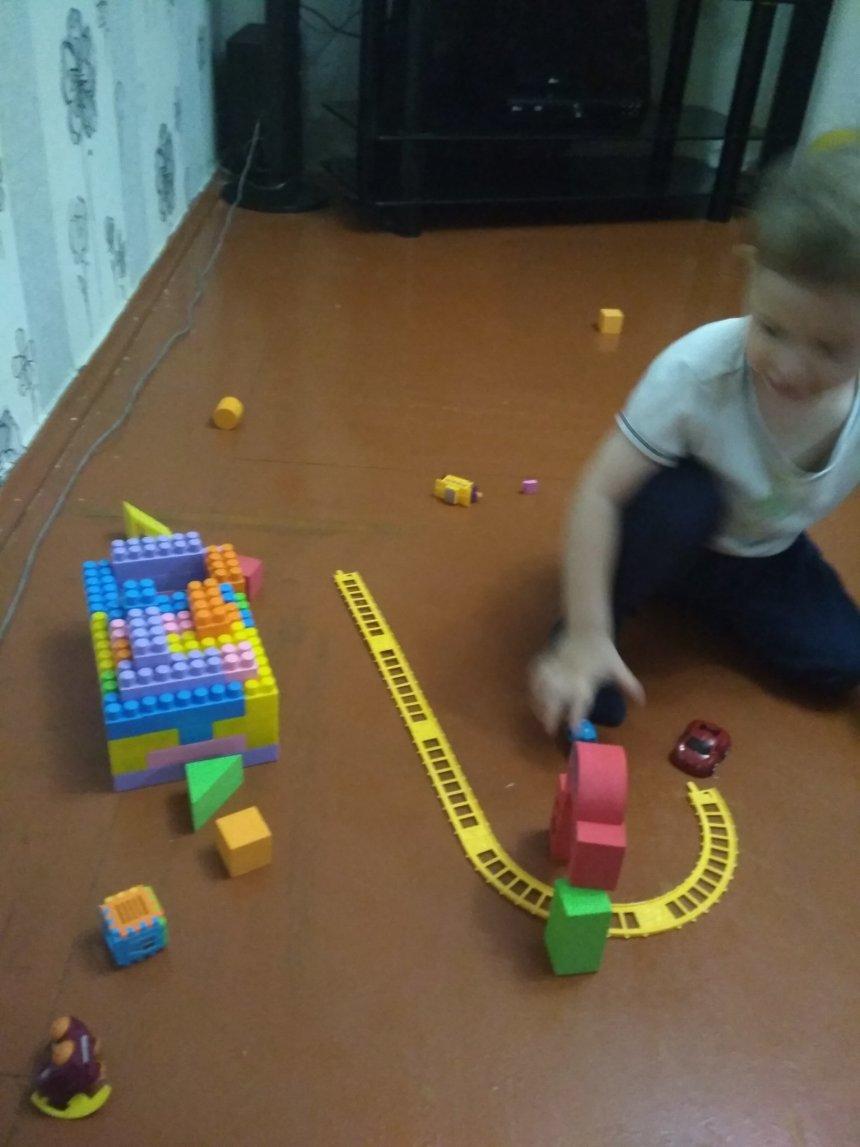 Отчёт по занятию Вокзал и поезд для малыша в Wachanga!